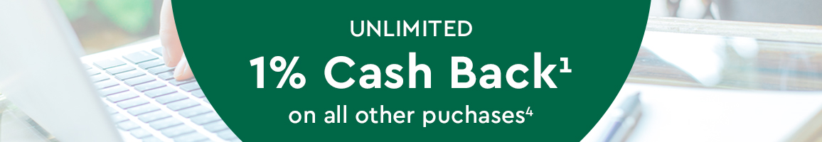1x Cash Back on all other purchases